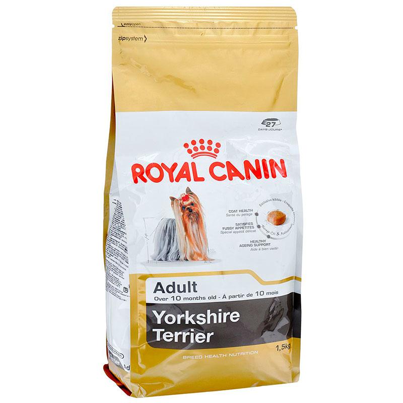 Корм ROYAL CANIN Adult Yorkshire PRI 28 1.5kg для йоркширского терьера 140015/685015 цена и фото