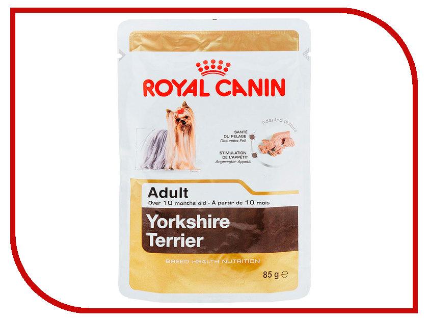 Корм ROYAL CANIN Adult Yorkshire Terrier Паштет 85g для собак 140012