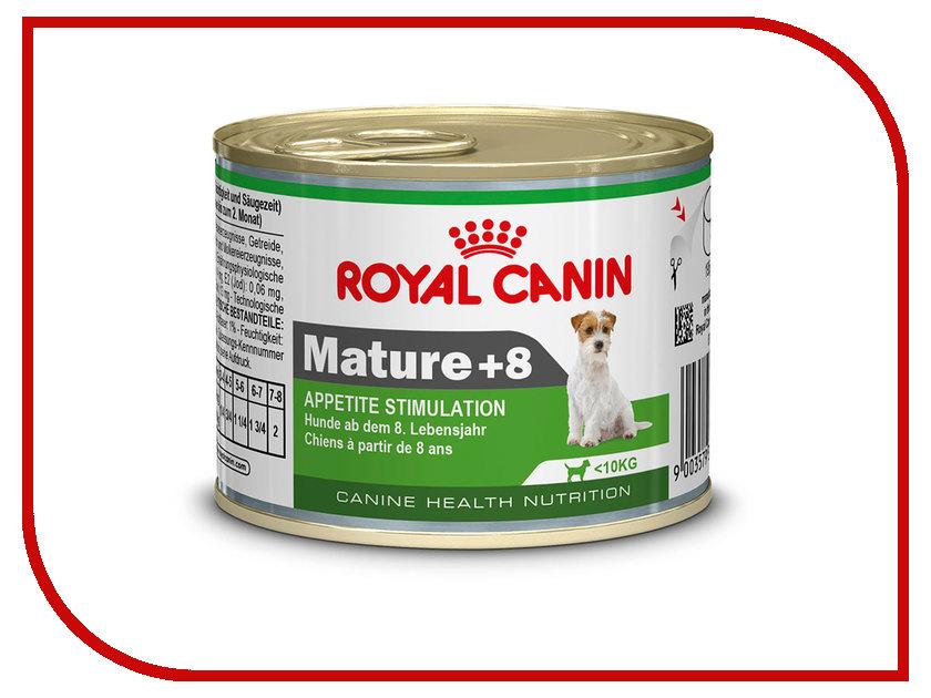 Корм ROYAL CANIN Mature 8+ 195g для собак старше 8 лет 780002 роял канин консервы мусс для собак старше 8 лет royal canin mature 8 195 г
