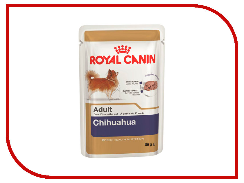 Корм ROYAL CANIN Adult Chihuahua Паштет 85g для собак 165012 / 1650127