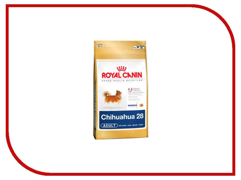 Корм ROYAL CANIN Adult Chihuahua 28 500g для собак старше 8 месяцев 318005 / 22537 корм royal canin adult shih tzu 500g для собак 22279