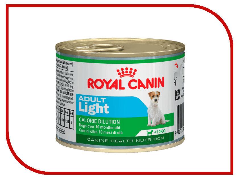 Корм ROYAL CANIN Adult Light 195g для собак 779002 royal canin sensitivity control диетический консервированный корм для собак 420 г