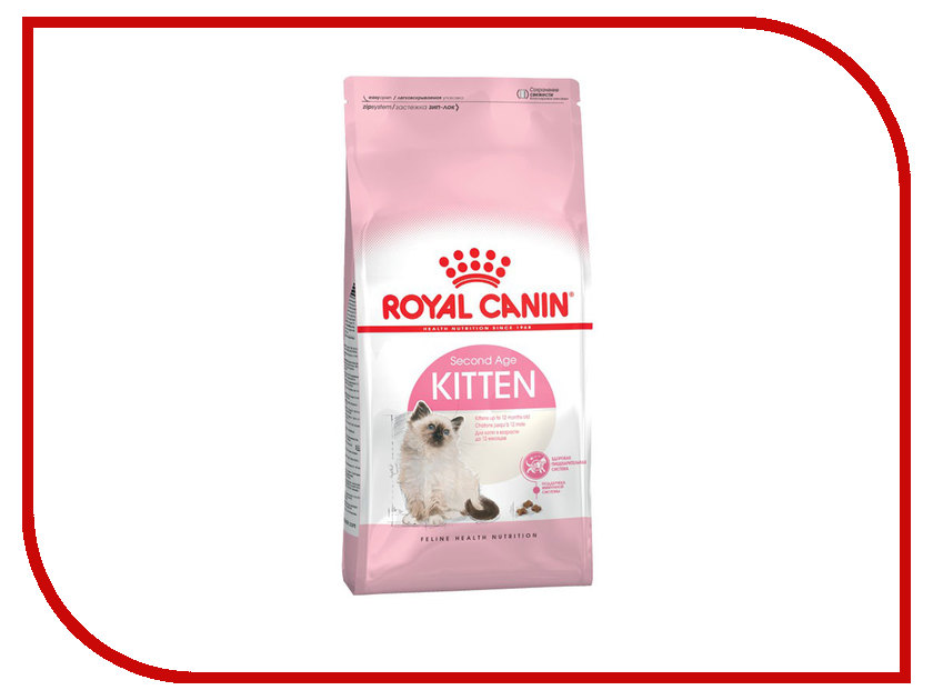 Корм ROYAL CANIN Kitten 400g для котят до 12 месяцев 535004/678104/678004/6788047 royal canin royal canin ageing 12 2 кг