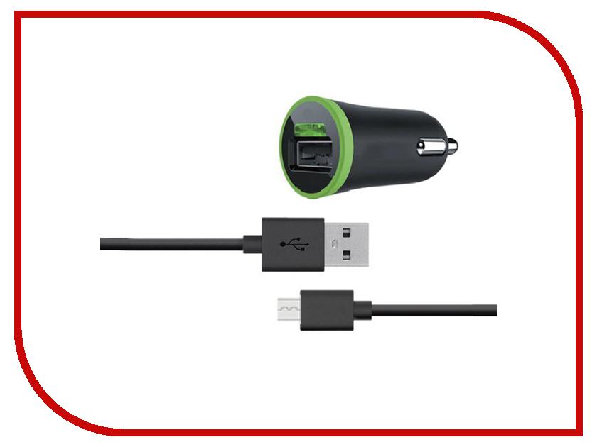 Зарядное устройство Budi M8J090M 2.1A + MicroUSB cable Black 70572 зарядное устройство budi m8j065 3 1a lightning cable white