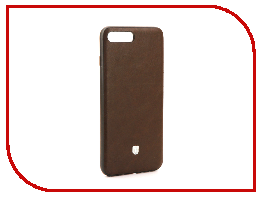 Аксессуар Чехол Activ T Leather для APPLE iPhone 7 Plus Brown 71563 аксессуар чехол activ t leather для apple iphone 6 plus brown 71557