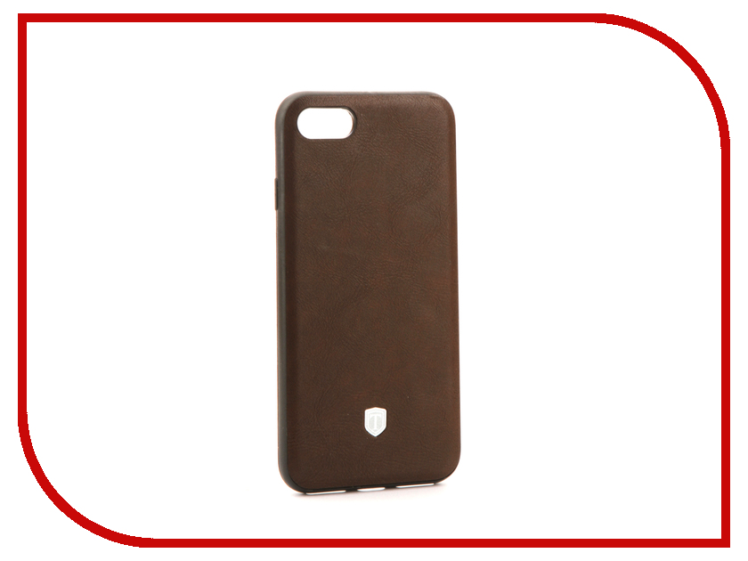 Аксессуар Чехол Activ T Leather для APPLE iPhone 7 Brown 71560 аксессуар чехол activ t leather для apple iphone 6 plus brown 71557
