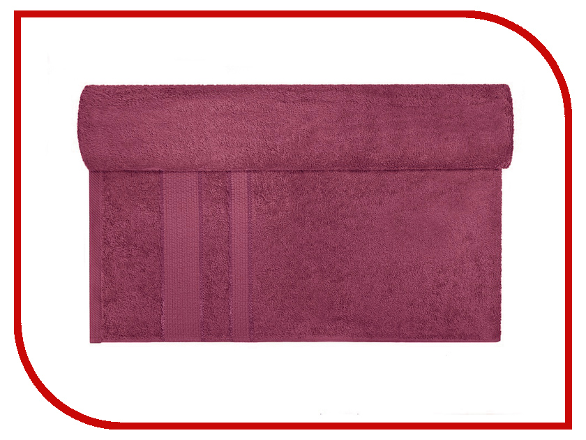 Полотенце Aisha Home 40x70 Bordo УзТ-ПМ-111-08-18 полотенца банные aisha махровое полотенце персик 50 90 100% хлопок узт пм 112 08 24
