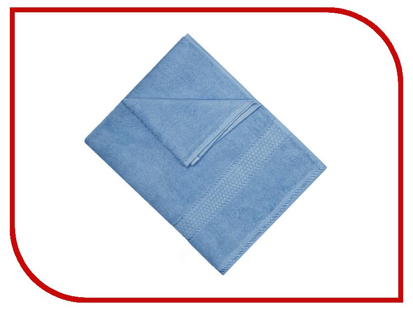Полотенце Aisha Home 50x90 Blue УзТ-ПМ-112-08-06 полотенца банные aisha махровое полотенце персик 50 90 100% хлопок узт пм 112 08 24
