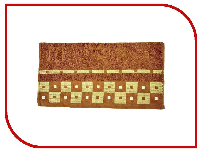 Полотенце Aisha Home 50x90 Brown УзТ-ПМ-112-09-20к полотенца банные aisha махровое полотенце персик 50 90 100% хлопок узт пм 112 08 24