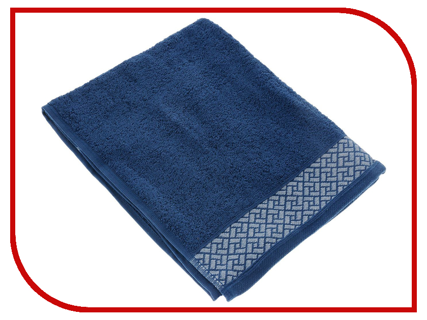 Полотенце Aisha Home 50x90 Blue УП-009-04