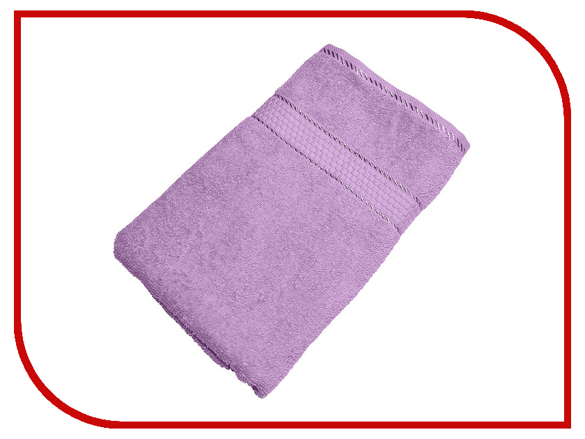 Полотенце Aisha Home УзТ-ПМ-114-08-05 70x140 Lilac