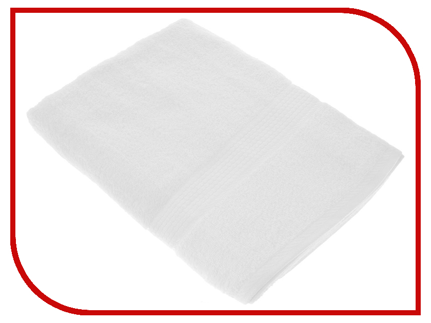 Полотенце Aisha Home 70x140 White УзТ-ПМ-114-08-29 полотенца банные aisha махровое полотенце персик 50 90 100% хлопок узт пм 112 08 24