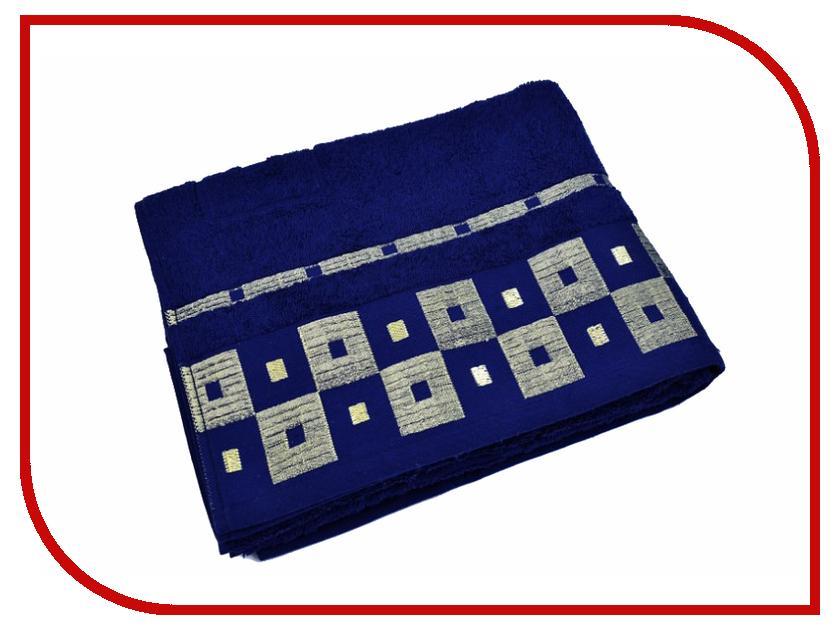Полотенце Aisha Home УзТ-ПМ-114-09-19к 70x140 Blue