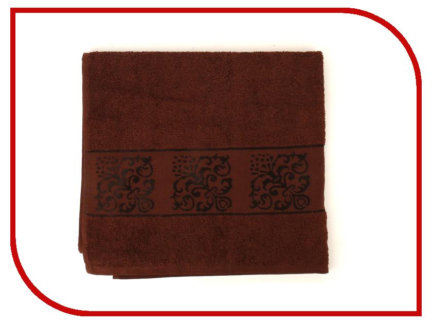 Полотенце Aisha Home 70x135 Dark Coffee УП-002-18