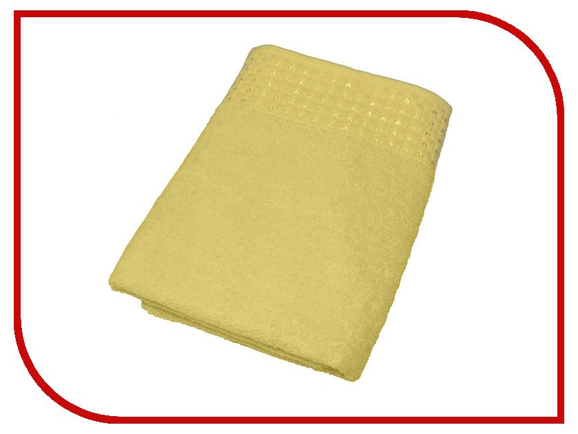 Полотенце Aisha Home 70x140 Yellow УП-008-01
