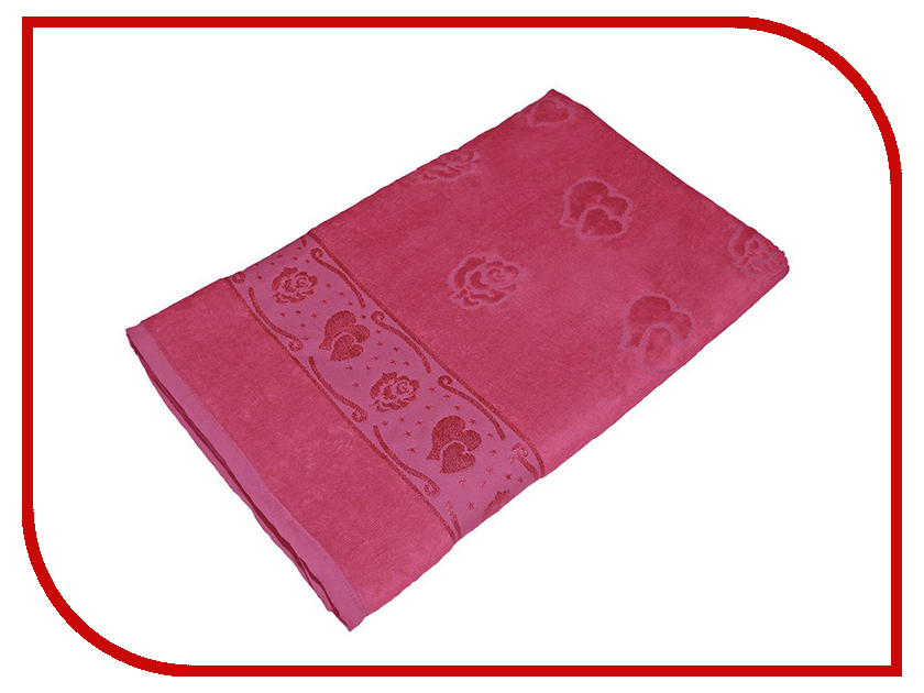 Полотенце Aisha Home 50x90 Fuchsia УП-015-02