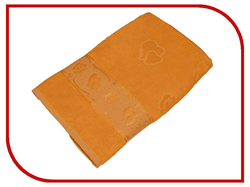 Полотенце Aisha Home 70x140 Orange УП-016-04