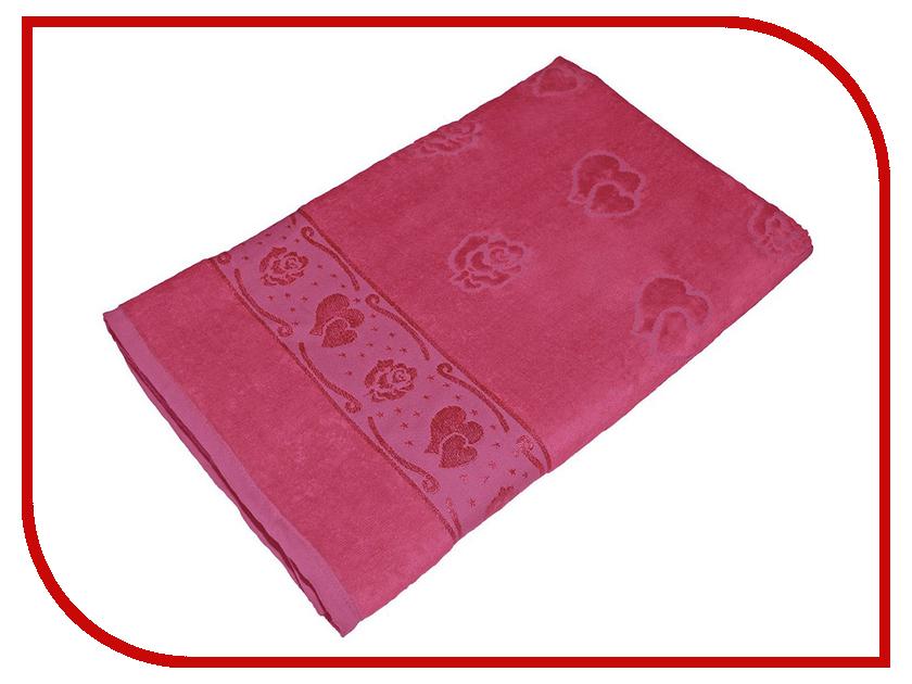 Полотенце Aisha Home УП-016-02 70x140 Fuchsia