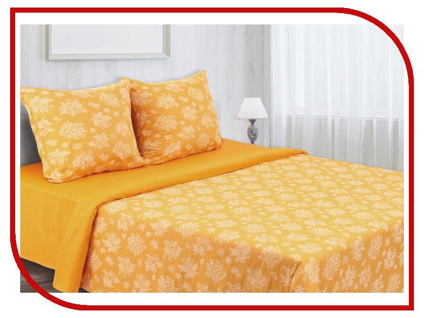Постельное белье Этель Сильвия Комплект 2 спальный Мако-Сатин 1157170 постельное белье этель калейдоскоп комплект 1 5 спальный мако сатин 2346502