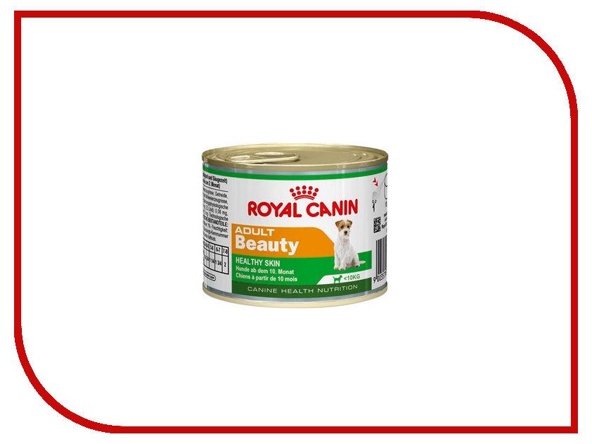 Корм ROYAL CANIN Adult Beauty Mousse 195g для собак 778103 цена и фото