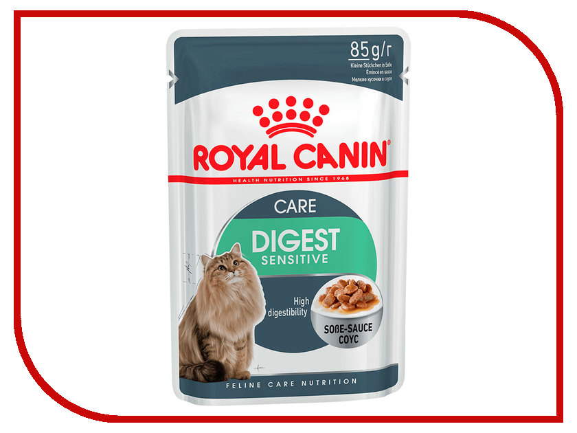 Корм ROYAL CANIN Digest Sensitive 85g для кошек 487001 administrative law case digest