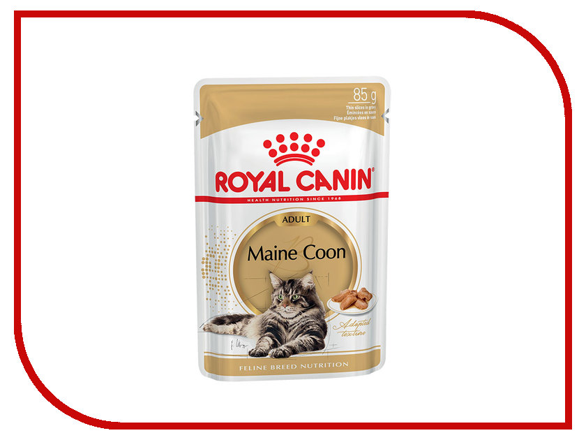 Корм ROYAL CANIN Maine Coon Соус 85g для кошек 542001 maine – an explorer s guide 7e