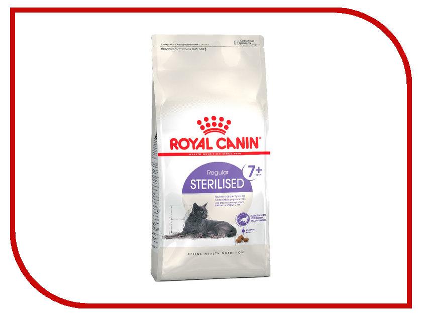 Корм ROYAL CANIN Sterilised +7 400g для кастрированных котов и стерилизованных кошек от 7 до 12лет 497004/497104 корм для кошек royal canin роял канин sterilised для кастрированных и стерилизованных конс 85г