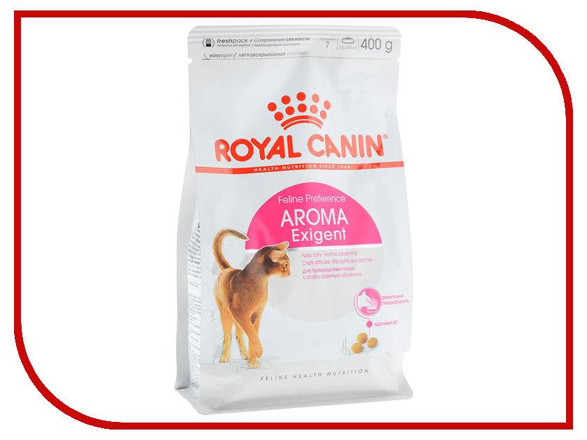 Корм ROYAL CANIN Exigent Aromatic 33 400g для кошек привередливых к аромату 473004/473104 корм сухой royal canin exigent 35 30 savoir sensation для кошек привередливых к вкусу продукта 400 г
