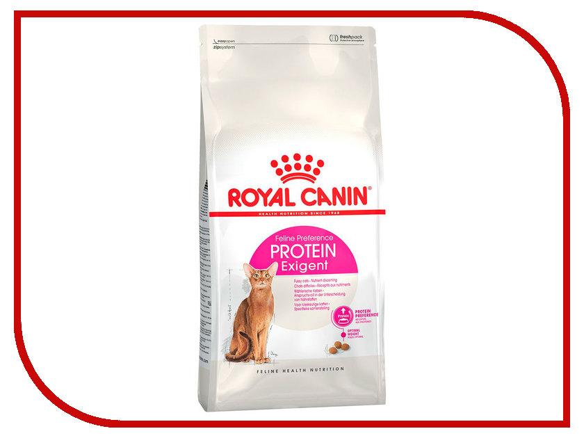 Корм ROYAL CANIN Exigent Protein 42 400g для кошек привередливых к составу продукта 472004/472104 протеин pure protein сasein protein банан 600 г