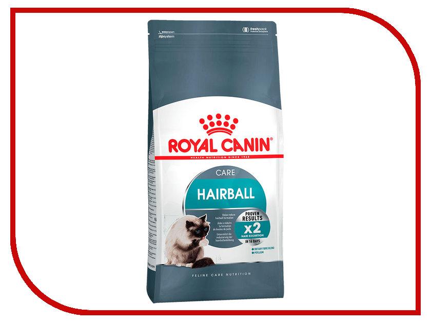 Корм ROYAL CANIN Hairball Care 400g для кошек удаление шерсти из желудка 645004 корм сухой royal canin digestive care для взрослых кошек с чувствительным пищеварением 400 г