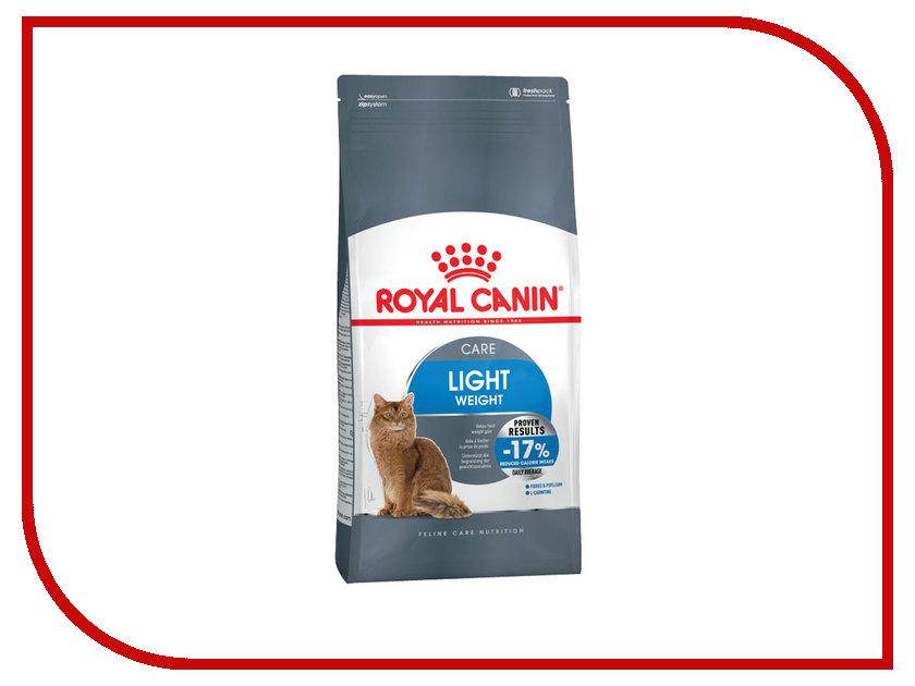 Корм ROYAL CANIN Light Weight Care 400g для взрослых кошек в целях профилактики избыточного веса 444004/644004 корм сухой royal canin digestive care для взрослых кошек с чувствительным пищеварением 400 г
