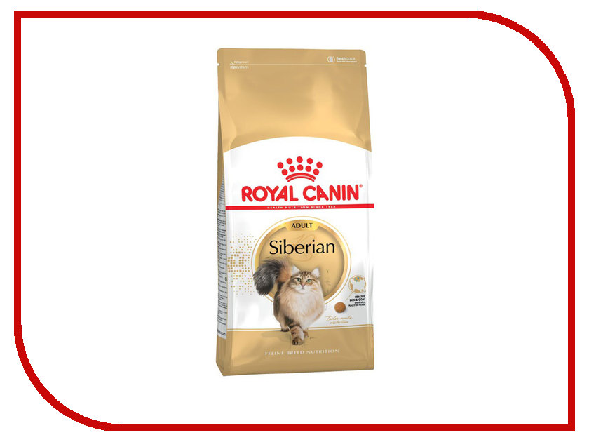 Корм ROYAL CANIN Siberian 400g Сухой для кошек 110004 корм сухой royal canin exigent 35 30 savoir sensation для кошек привередливых к вкусу продукта 400 г