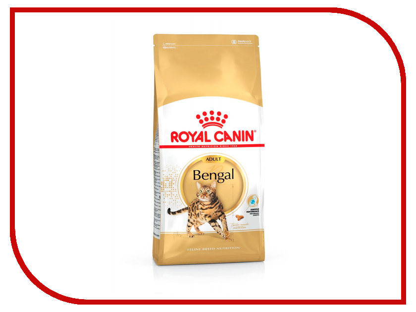 Корм ROYAL CANIN Bengal Adult 400g для бенгальских кошек 134004 корм сухой royal canin siamese adult для сиамских кошек старше 12 месяцев 2 кг