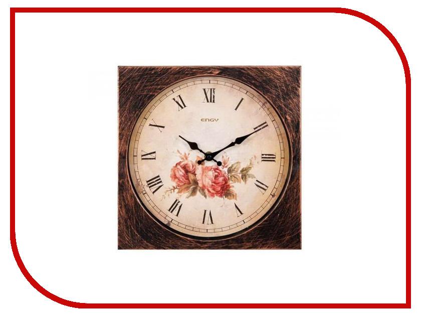 Часы Energy EC-21 квадратные