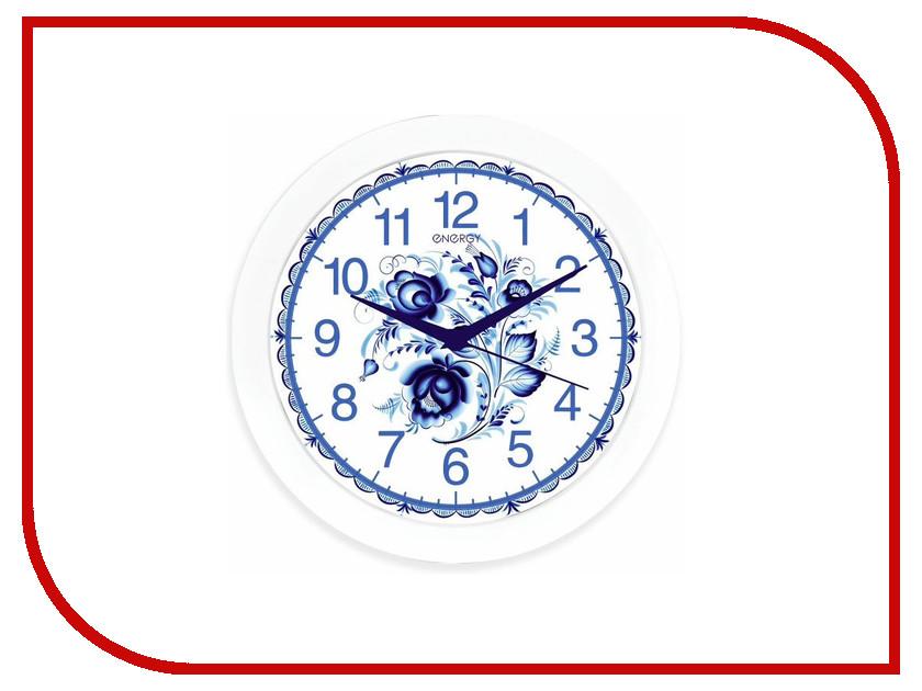 Часы Energy EC-102 гжель железная дорога brio классика делюкс 25 эл 45х8х27см кор
