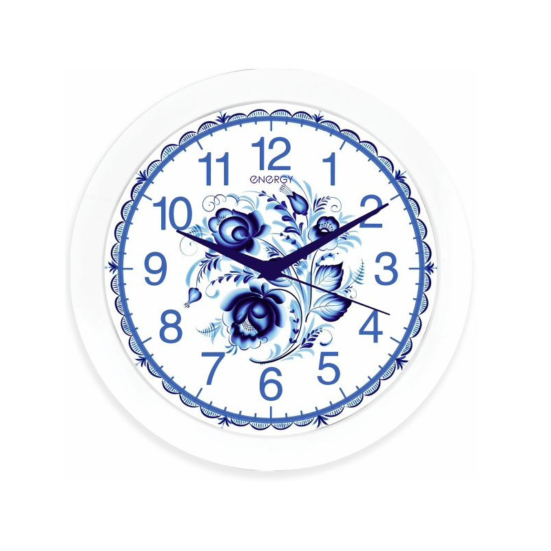 Часы Energy EC-102 гжель