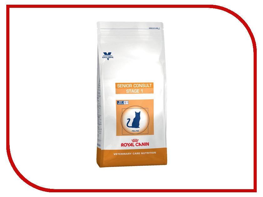 Корм ROYAL CANIN VCN Consult Stage 1 сухой 400g для кастрированных котов и кошек свыше 7 лет 746004 корм сухой royal canin digestive care для взрослых кошек с чувствительным пищеварением 400 г