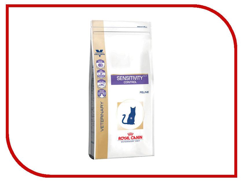 Корм ROYAL CANIN Sensitivity Control SC27 400g для кошек с пищевой непереносимостью 736004 корм royal canin sensible 33 400g для кошек