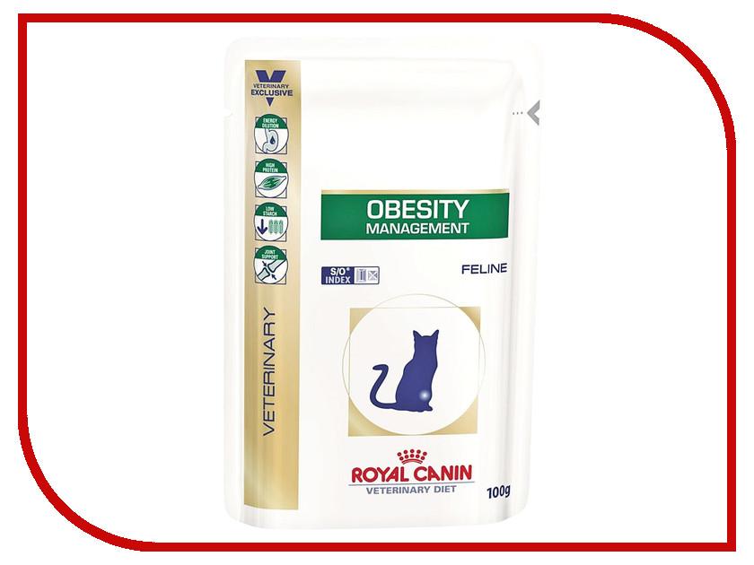 Корм ROYAL CANIN Obesity Management Feline 100g для кошек с избытачным весом вес 751001 leucine supplementation prevents obesity