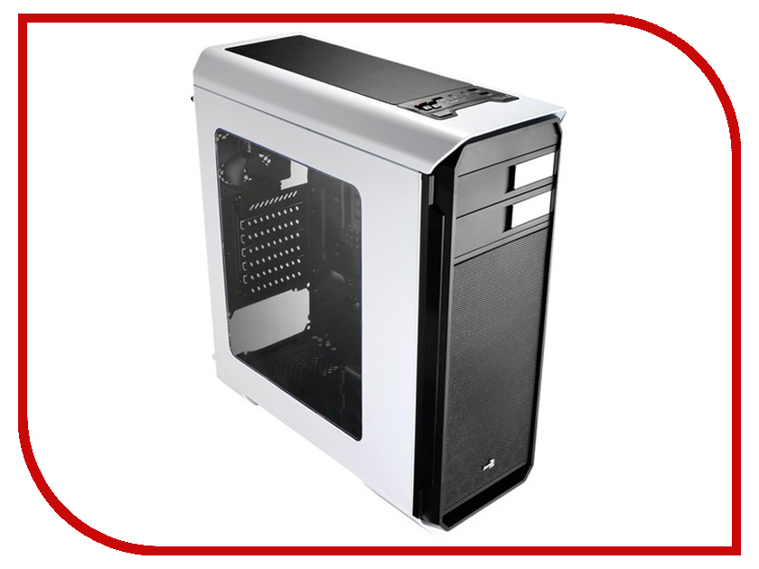 Корпус AeroCool Aero-500 Window White без БП tombo 2010 aero reed d