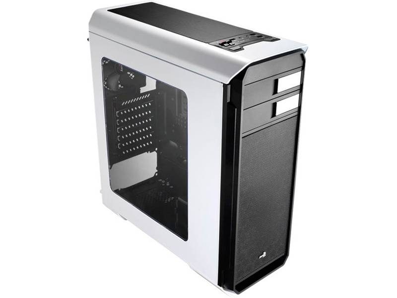 Корпус AeroCool Aero-500 Window White без БП