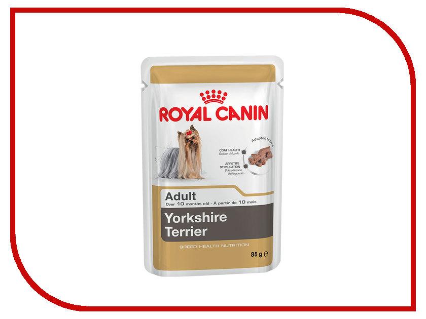Корм ROYAL CANIN Adult Yorkshire Terrier Паштет для собак 85g 1400127
