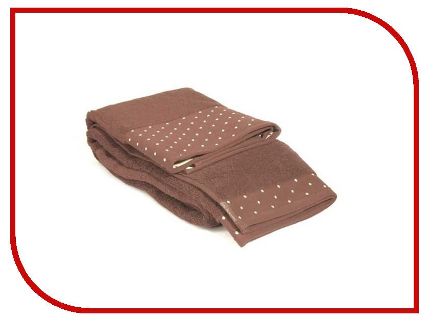 Полотенце Tet-A-Tet 50x90 Brown Т-МП-7451-01-20