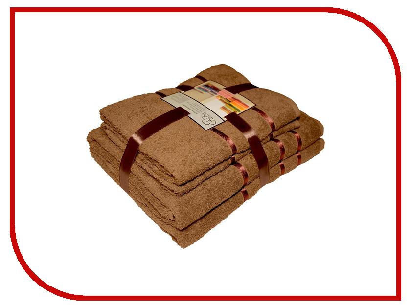 Полотенце Aisha Home 50x85/70x135 Brown 4шт НП-009 нп 1216 9э elitech