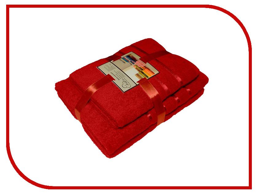 где купить Полотенце Aisha Home 50x85/70x135 Red 4шт НП-006 по лучшей цене