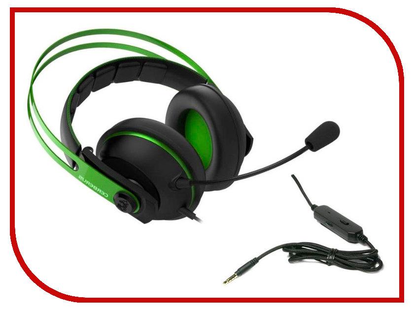 ASUS Cerberus V2 Green-Black 90yh018g-b1ua00 asus strix 2 0 black 90yh00h1 b1ua00