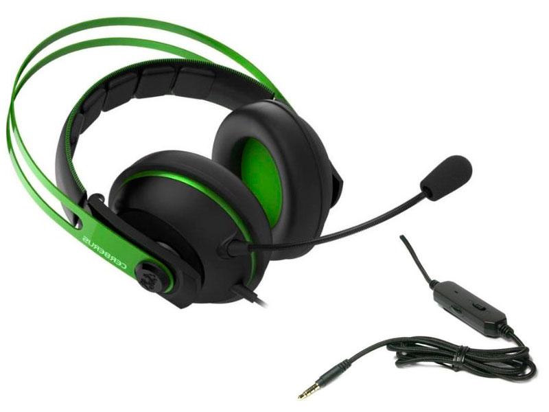 Наушники ASUS Cerberus V2 Green-Black 90yh018g-b1ua00