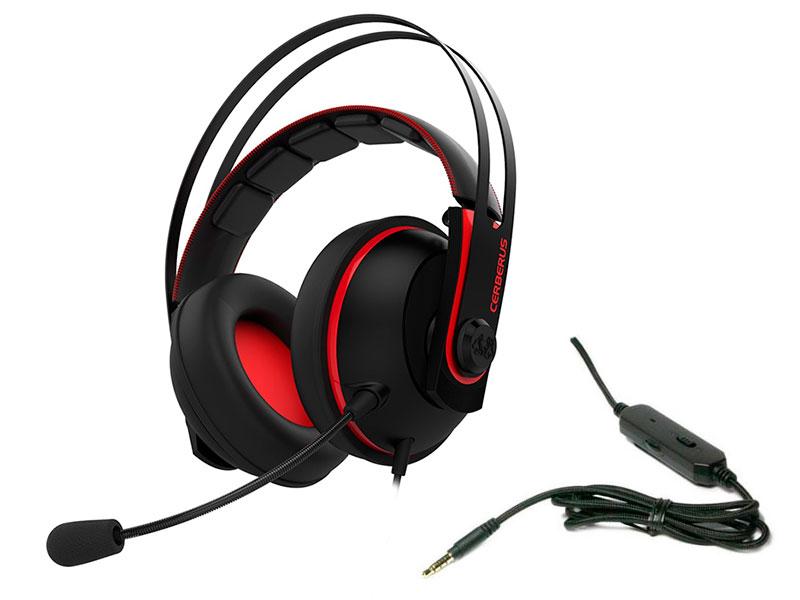 ASUS Cerberus V2 Red-Black 90YH015R-B1UA00 asus cerberus black 90yh00t1 bdua00