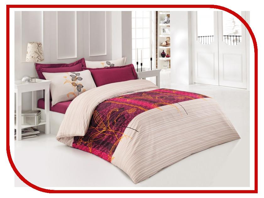 Постельное белье Tet-A-Tet Кармин Т-0038-01 Комплект 1.5 спальный Сатин постельное белье tet a tet аврора т 2105 01 комплект 1 5 спальный сатин
