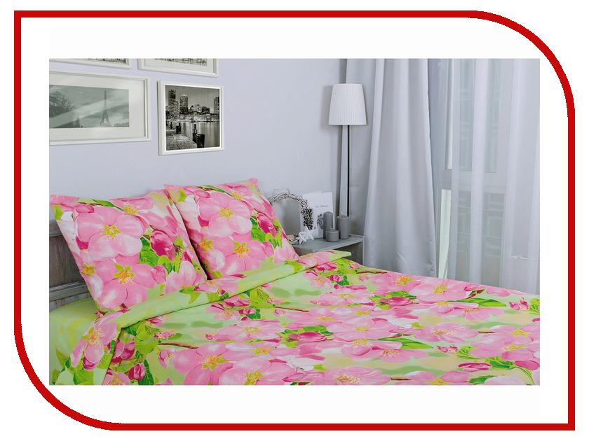 где купить Постельное белье Этель Яблоневый цвет Комплект Дуэт Поплин 1154377 по лучшей цене